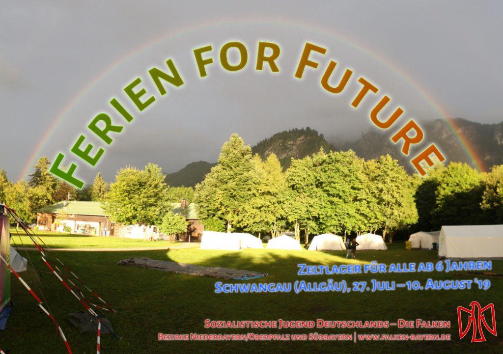 Ferien for Future - Zeltlager 2019