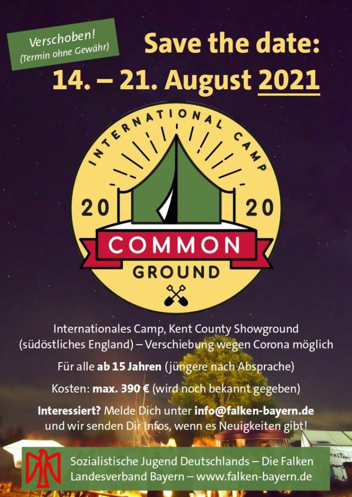 IFM-Camp auf 14.-21.8.2021 verschoben
